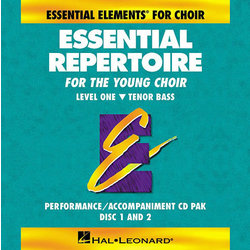 Essential Repertoire for the Young Choir Level 1 - Tenor/Bass - Performance/Accompaniment CD