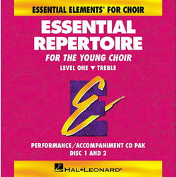 Essential Repertoire for the Young Choir Level 1 - Treble - Performance/Accompaniment CD