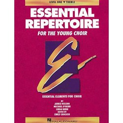 Essential Repertoire For The Young Choir Level 1 - Treble - Student