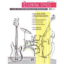 Essential Styles for the Drummer and Bassist, Book 1 w/CD