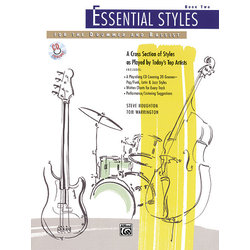 Essential Styles for the Drummer and Bassist, Book 2 w/CD