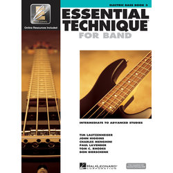 Essential Technique for Band - Electric Bass