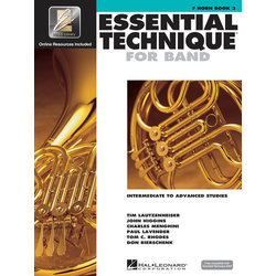 Essential Technique for Band - F Horn