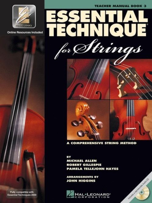 View larger image of Essential Technique for Strings - Teacher's Manual