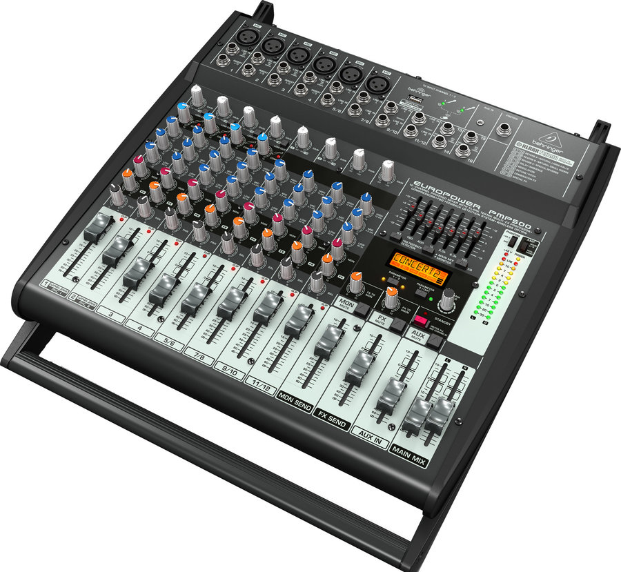 View larger image of Europower PMP500 12 Channel Powered Mixer