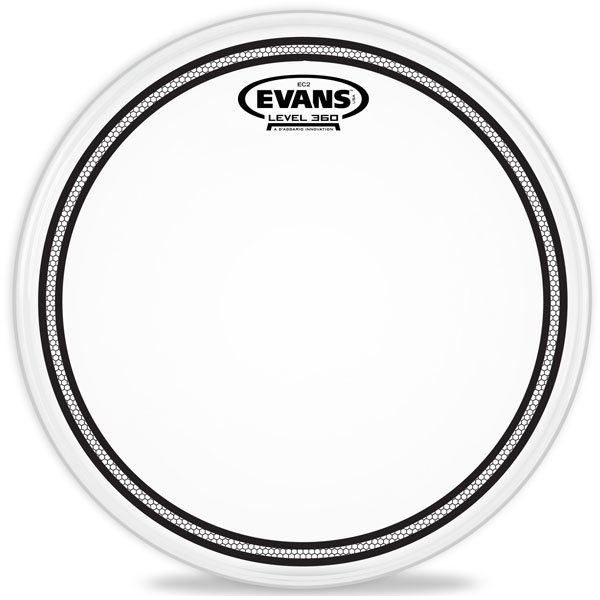 View larger image of Evans B12EC2S EC2 Frosted Snare/Tom/Timbale Head - 12