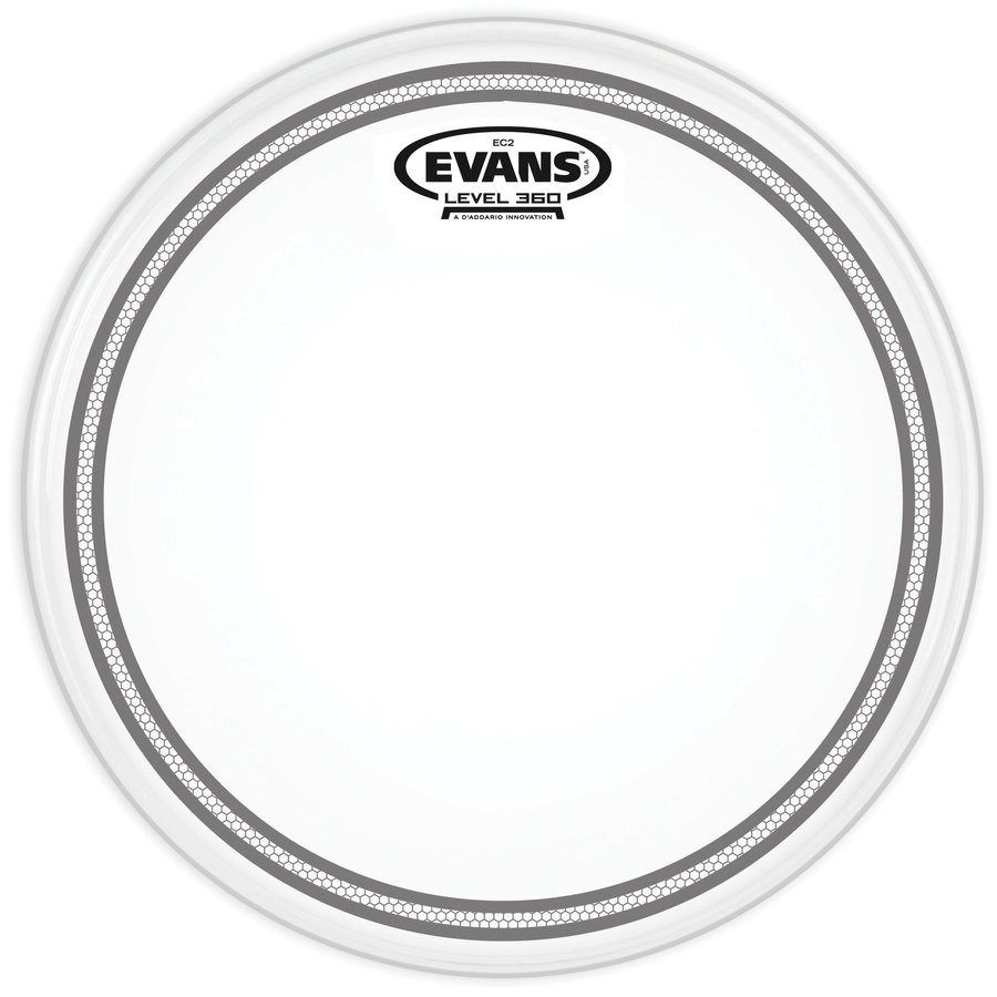 View larger image of Evans B13EC2S 13 EC2 Frosted Snare/Tom/Timbale