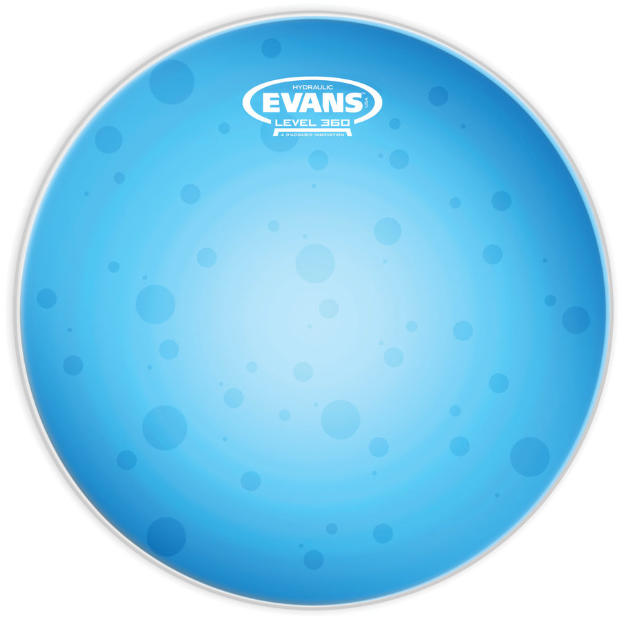 View larger image of Evans B14HB 14 Hydraulic Blue Coated Snare Head