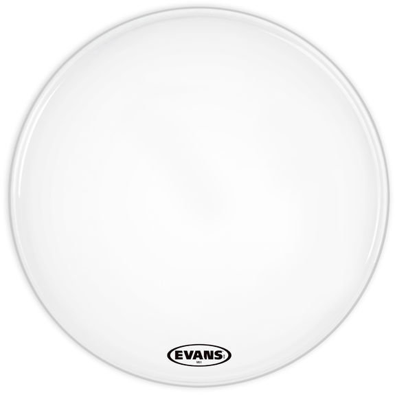 View larger image of Evans BD14MS1WMS1 Marching Bass Head Drum - White - 14
