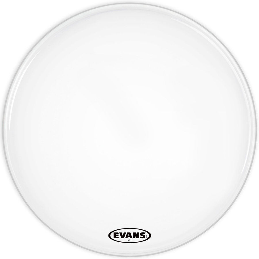 View larger image of Evans BD16MS1W 16 MS1 White Bass Drum Head