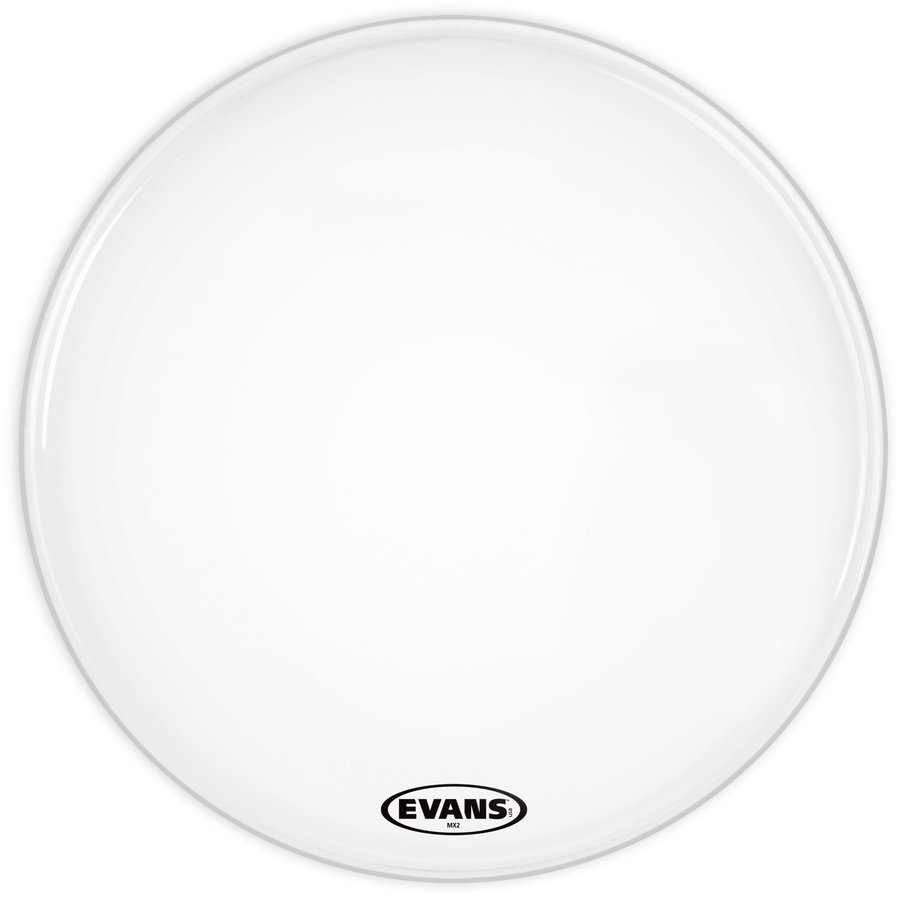 View larger image of Evans BD16MX2W 16 MX2 White Bass Drum Head