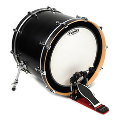 Evans BD18EMADCW 18 EMAD Coated Bass Drumhead