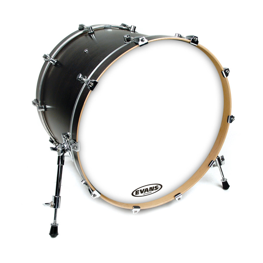 View larger image of Evans BD18RGCW 18 EQ3 Coated White Bass Drumhead