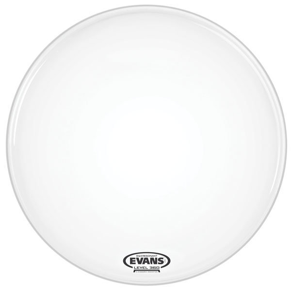 View larger image of Evans BD18RGCW-NP EQ3 Coated White Bass No Port Drum Head - 18