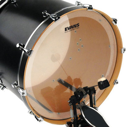 View larger image of Evans BD20GB3 20 EQ3 Clear Bass Drumhead