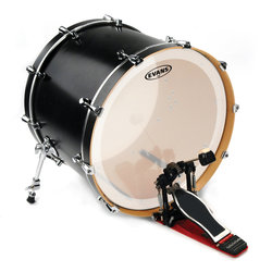 Evans BD20GB3C 20 EQ3 Frosted Bass Drumhead
