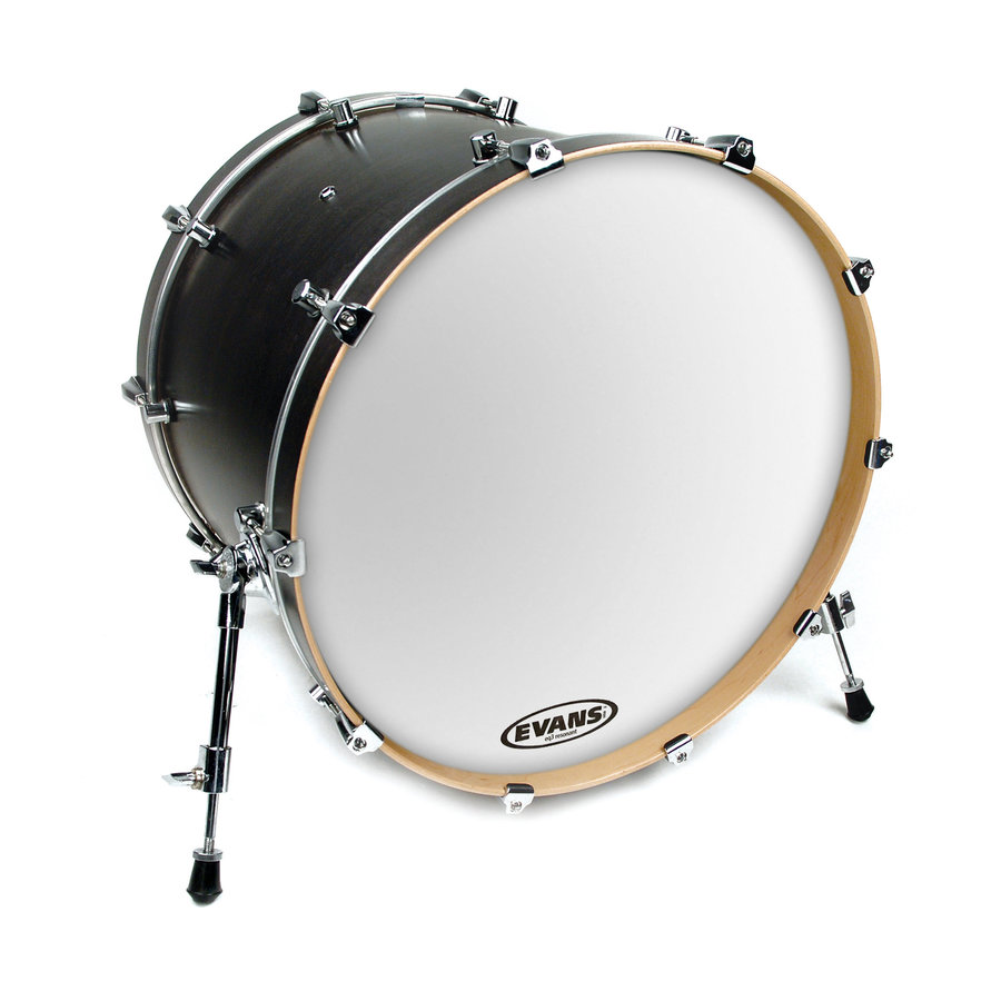 View larger image of Evans BD20RSW 20 EQ3 Smooth White Bass Drumhead