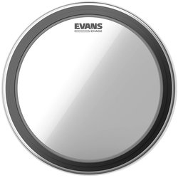 "Evans EMAD 2 Bass Drumhead - 22"", Clear"