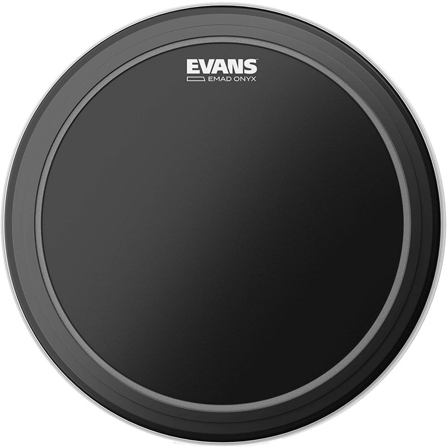 """View larger image of Evans EMAD Onyx Series Bass Drumhead - 22"""""""