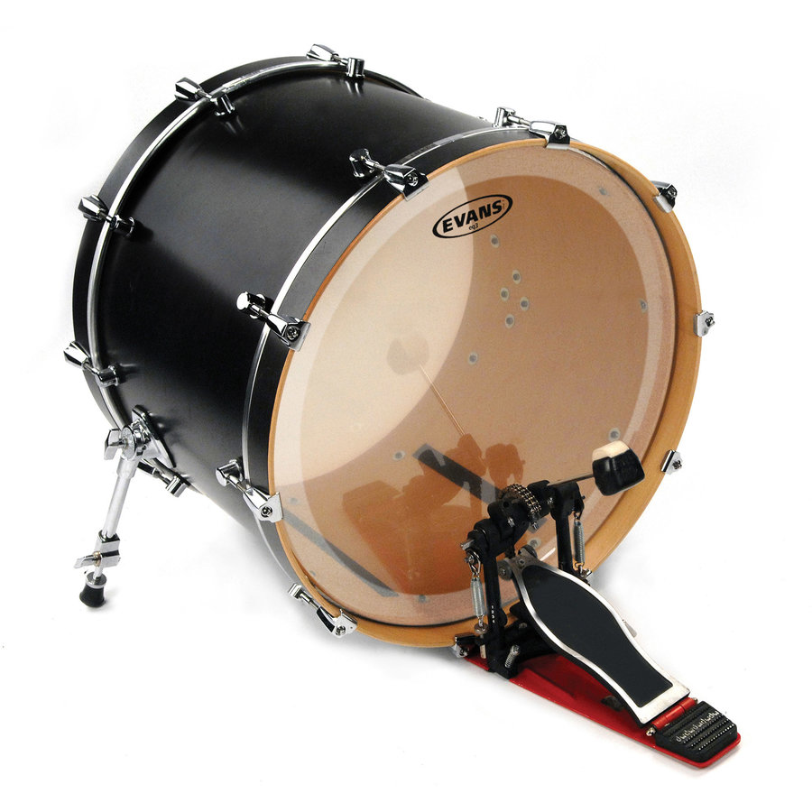 View larger image of Evans BD22GB3 22 EQ3 Clear Bass Drumhead