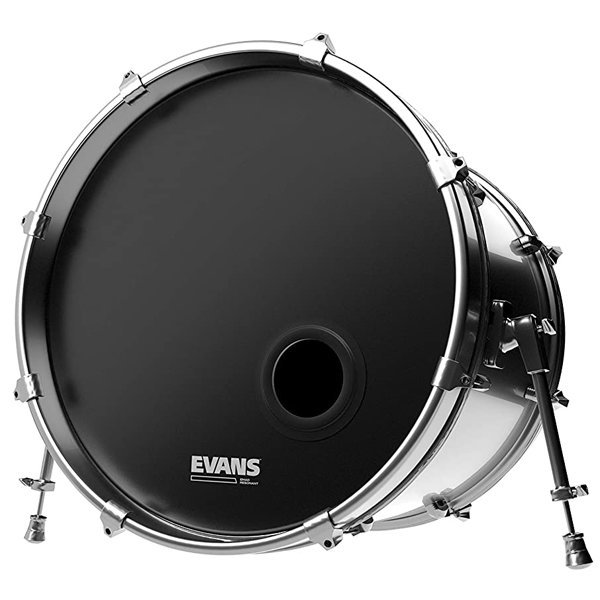 """View larger image of Evans EMAD Resonant Bass Drumhead - 22"""""""