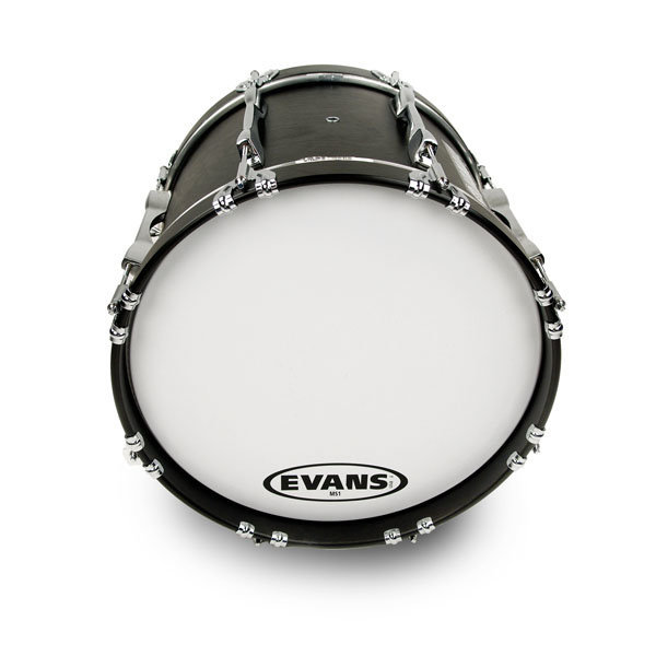 View larger image of Evans BD32MS1W 32 MS1 White Bass Drum Head