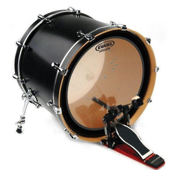 View larger image of Evans EMAD 18 Heavyweight Clear Bass Batter Drum Head