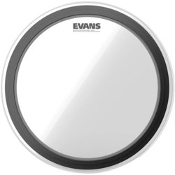 "Evans EMAD Heavyweight Bass Drumhead - 22"", Clear"