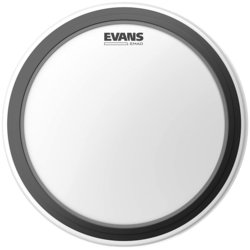 """Evans EMAD Coated Bass Drumhead - 22"""""""