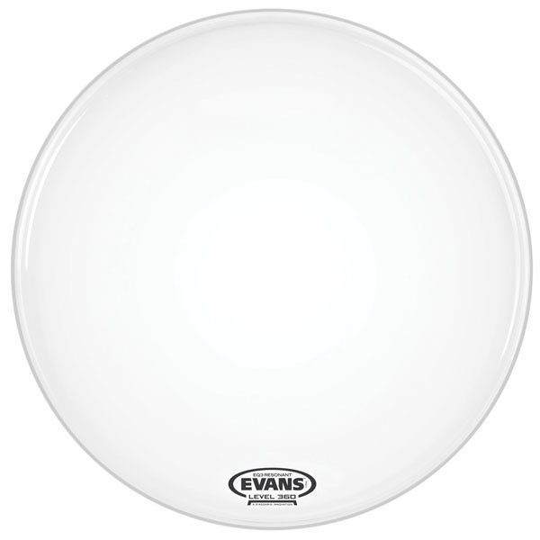 View larger image of Evans EQ3 Smooth White Bass No Port Drum Head - 26