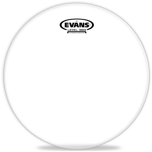 View larger image of Evans ETP-G1CLR-F G1 Clear Tom Pack-Fusion - 10, 12, 14