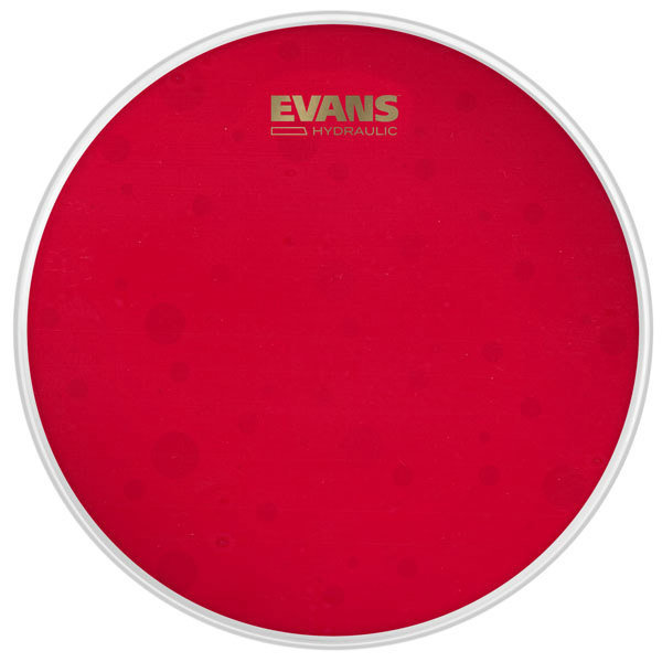 View larger image of Evans Hydraulic Coated Snare Batter Drum Head - Red, 14