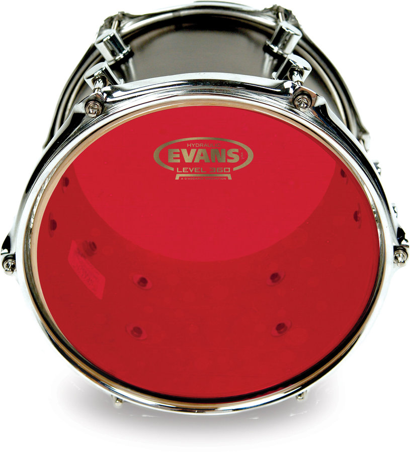 View larger image of Evans Red Hydraulic Drumhead - 10