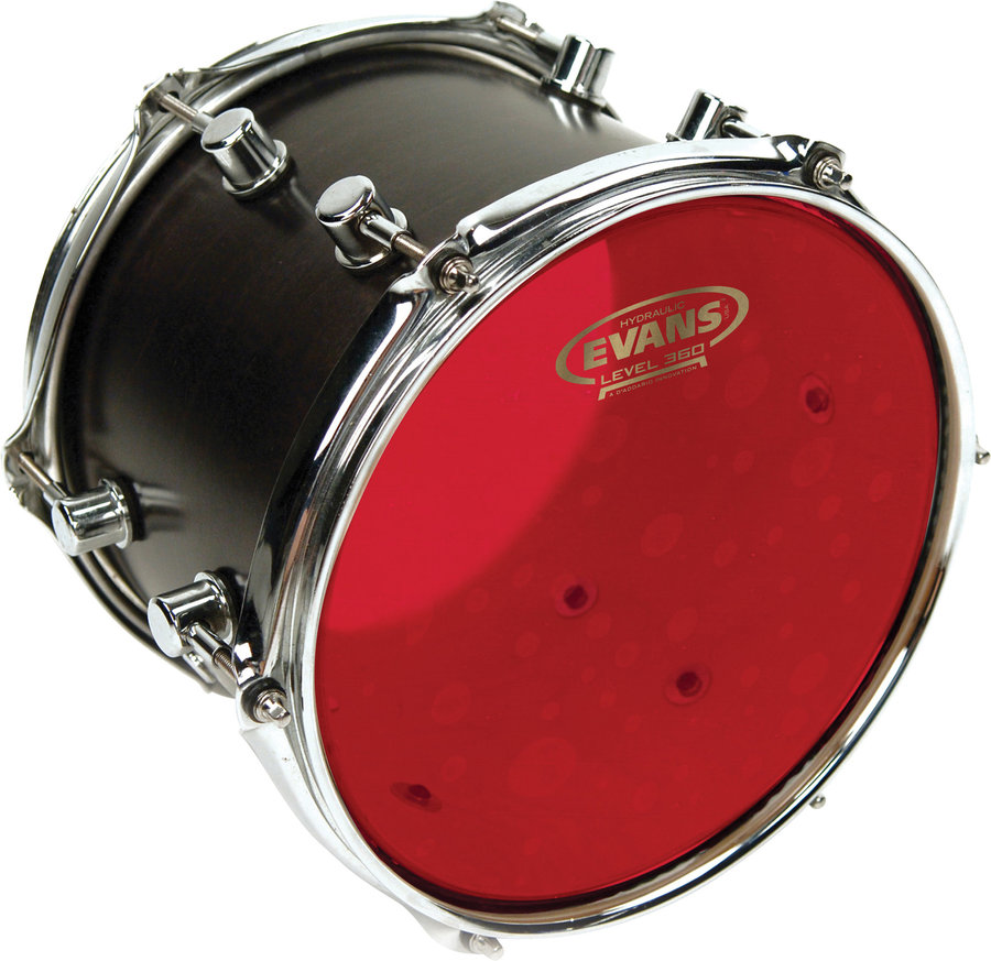 View larger image of Evans Red Hydraulic Drumhead - 12
