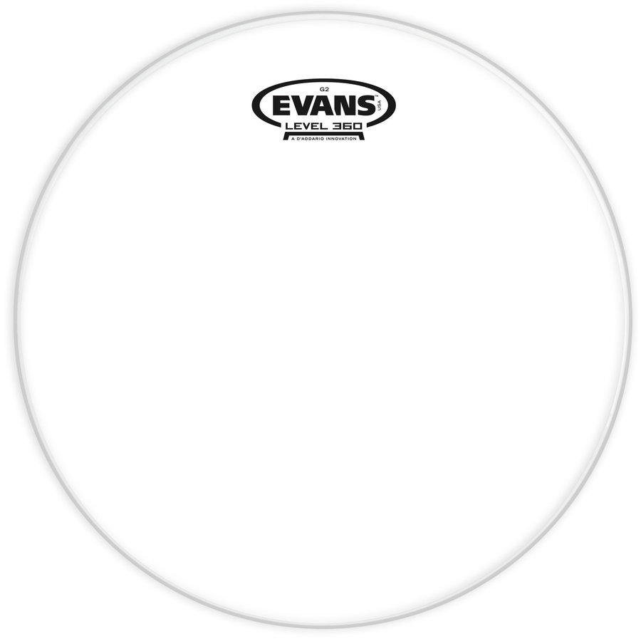 """View larger image of Evans TT06G2 Genera G2 Tom Drumhead - 6"""", Clear"""