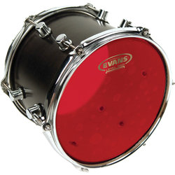 Evans TT06HR Hydraulic Drum Head - 6, Red