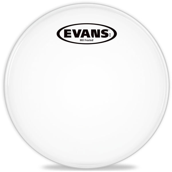 View larger image of Evans TT06MXF 6 MX Frost Tenor Drum Head