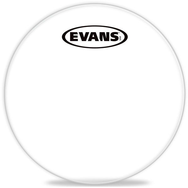 View larger image of Evans TT08CC 8 Corps Clear Tenor Drumhead