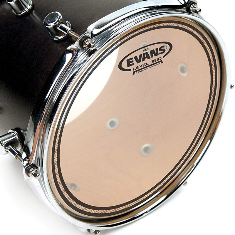 View larger image of Evans TT12EC2S 12 EC2 Clear Snare/Tom/Timbale