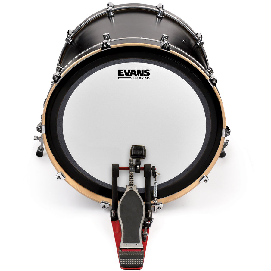 View larger image of Evans UV EMAD Coated Bass Batter Drumhead - 16