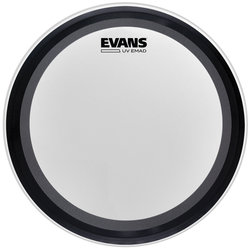Evans UV EMAD Coated Bass Batter Drumhead - 18