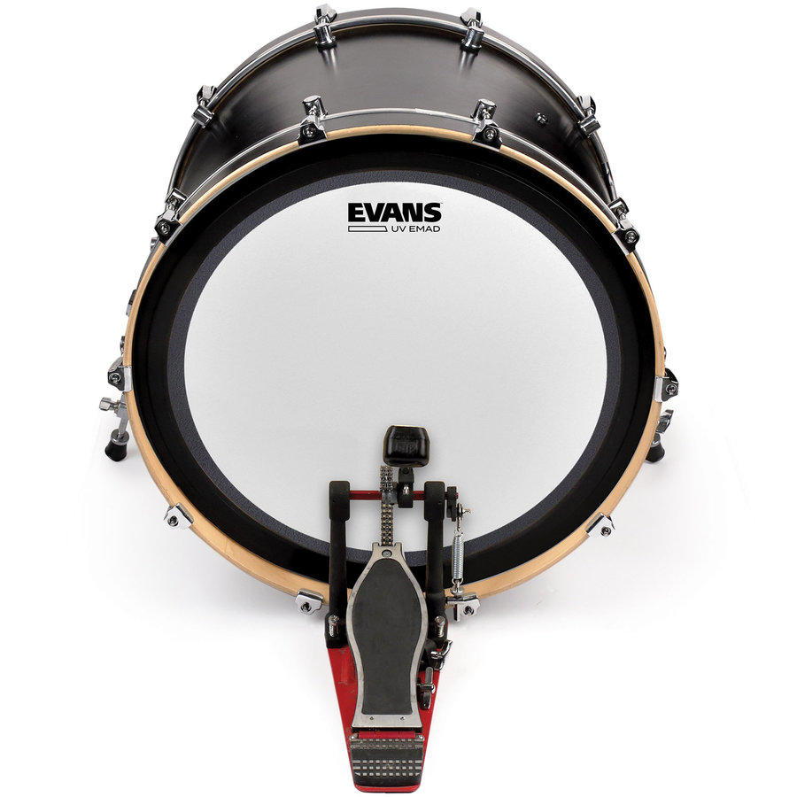 View larger image of Evans UV EMAD Coated Bass Batter Drumhead - 18