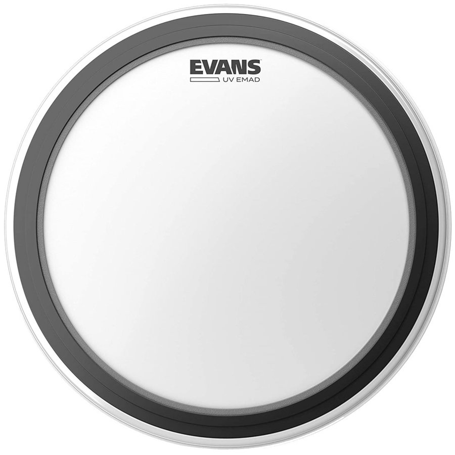 """View larger image of Evans UV EMAD Coated Bass Drumhead - 22"""""""