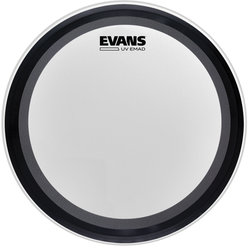 Evans UV EMAD Coated Bass Batter Drumhead - 24