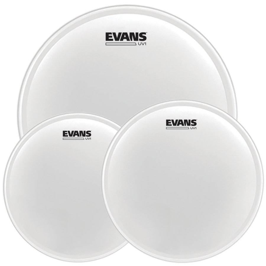 View larger image of Evans UV1 Fusion Drumhead Pack