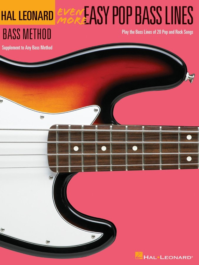 View larger image of Even More Easy Pop Bass Lines (Hal Leonard Bass Method)