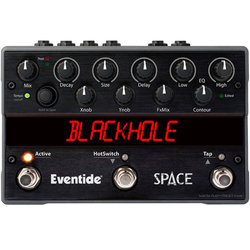 Eventide Space Reverb and Beyond Pedal