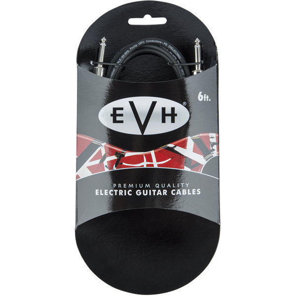 View larger image of EVH Premium Guitar Cable - Straight / Straight, 6'
