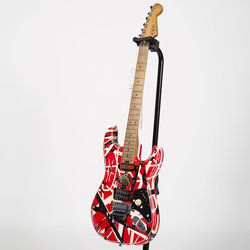 EVH Striped Series Frankenstein Relic Electric Guitar - Red/Black/White