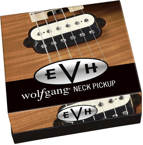 View larger image of EVH Wolfgang Neck Pickup - Black and White